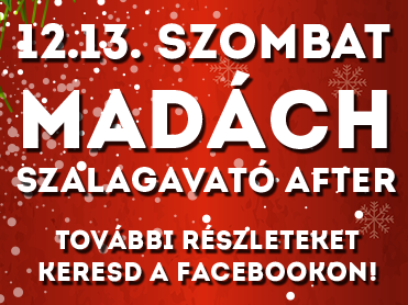 Madách szalagavató after