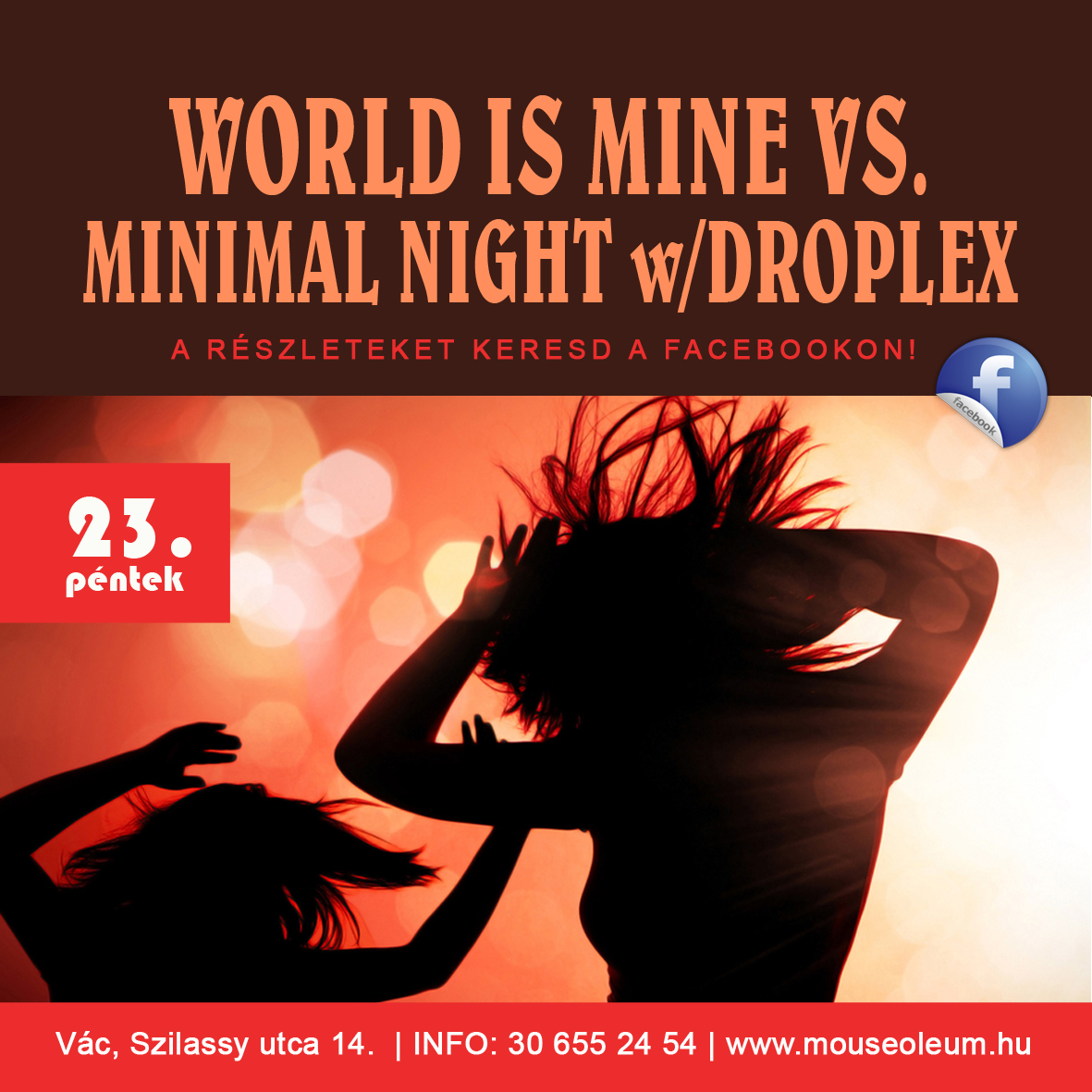 World is Mine vs. Minimal Night w/Droplex